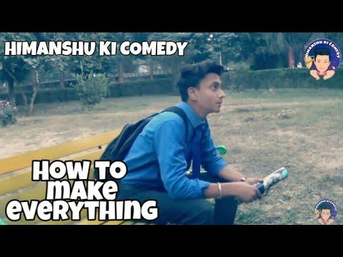 How To Make Everything | Picsart Tutorial | Himanshu Ki Comedy