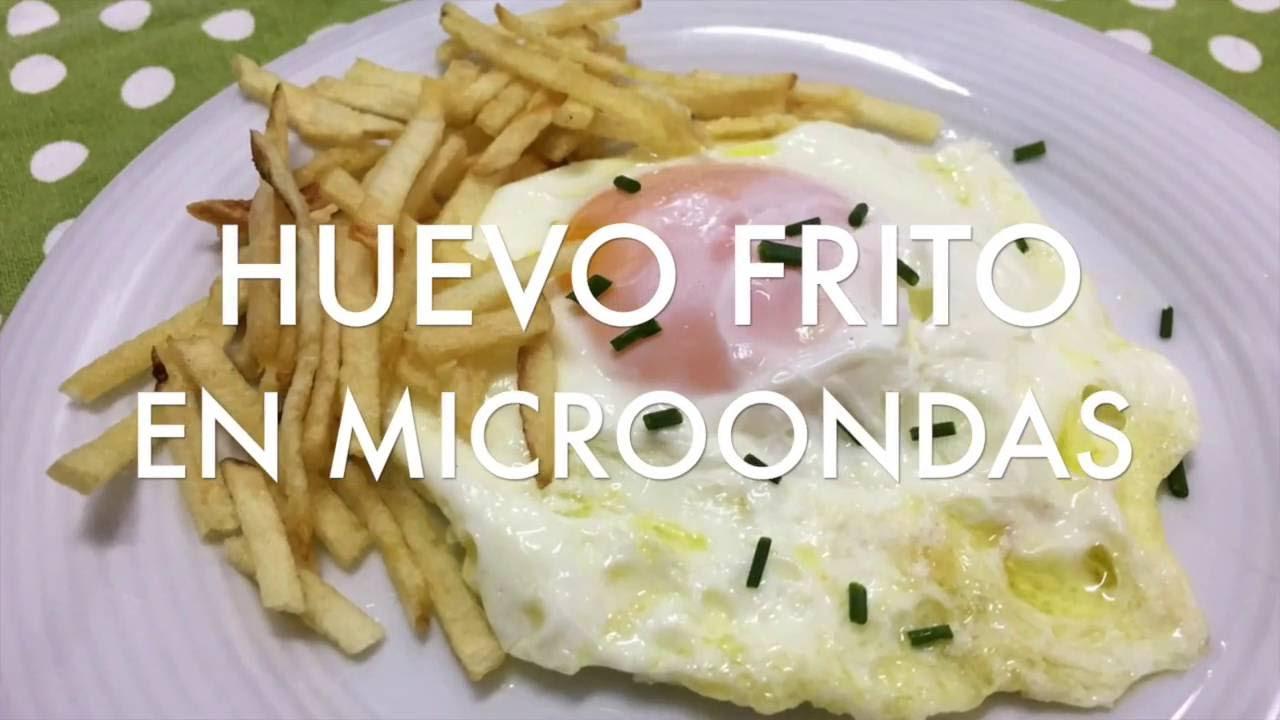 receta de huevo frito en microondas divina cocina - Divina Cocina