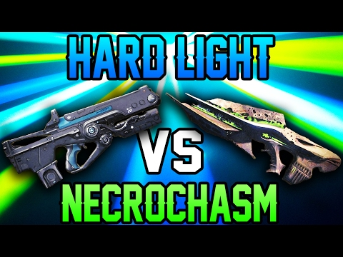 HARD LIGHT VS NECROCHASM (Funny Scotch Tape Challenge In Destiny!!)