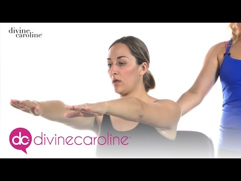 Pilates You Can Do at Your Desk | MORE