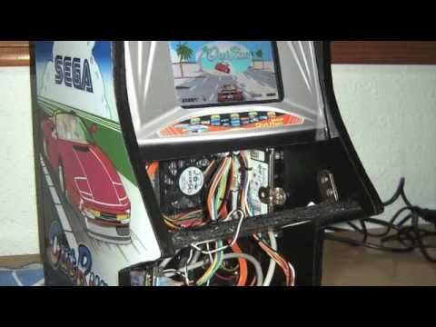 Out Run Mini Arcade Cabinet - PART 1 - YouTube