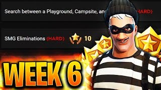 Fortnite Week 6 Challenges LEAKED!! Fortnite Season 4 Battle Pass Week 6 ALL CHALLENGES! Battle star