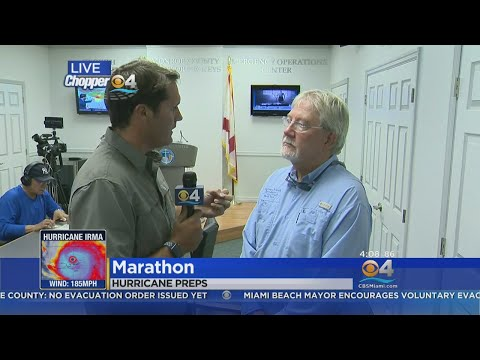 Monroe County Mayor George Neugent Discusses Hurricane Irma Plans