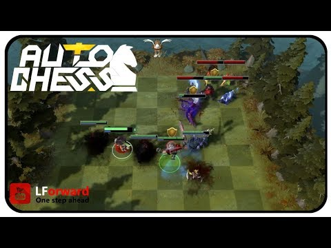 Dota2: Auto Chess #24 | The Early Warlock Catches The Worm