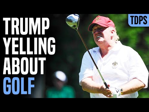 Trump Bizarrely Defends Golfing in Absurd Exercise Rant