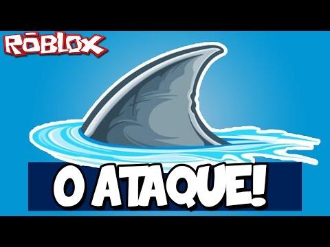 O ATAQUE DOS TUBARÕES! – Roblox (Shark Attack)
