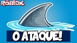 THE SHARK ATTACK! -ROBLOX (Shark Attack)
