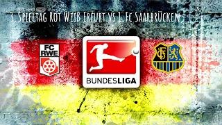 25.2.17 Rot Weiß Erfurt vs 1.Fc Saarbrücken