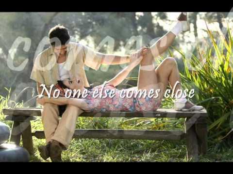 No One Else Comes Close by Joe with Lyrics.wmv