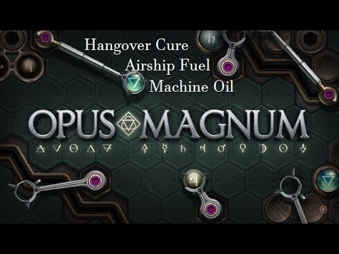 Opus Magnum Hangover Cure Airship Fuel Machine Oil Chapter 1 2 Youtube