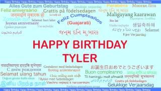Tyler   Languages Idiomas - Happy Birthday