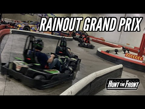 Grand Prix Go Kart Racing After the Dirt Track Rained Out