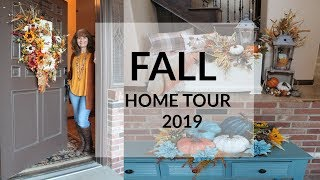 COZY FALL HOME TOUR 2019🍂FALL DECORATING IDEAS🍁FARMHOUSE DECOR🍂FALL DECOR🍁FALL TUSCAN DECOR