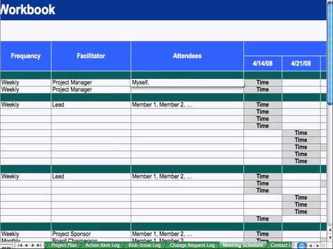 7) Meeting Schedule - Project Management - YouTube