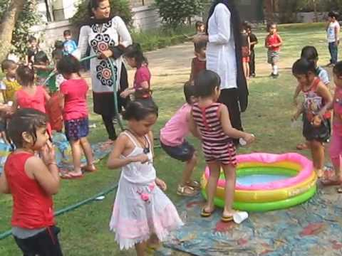 Water Play Activity