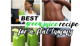 BEST & EASY GREEN JUICE RECIPE  FOR WEIGHT LOSS!!