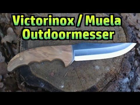 outdoor messer von victorinox muela 011 youtube. Black Bedroom Furniture Sets. Home Design Ideas