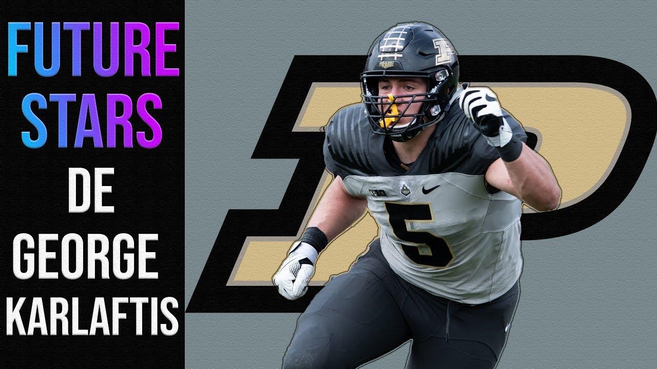 George Karlaftis | DE | Purdue | 2020 CFB Future Stars