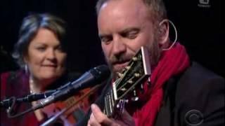 Sting - Soul Cake (Live Letterman 2009).avi