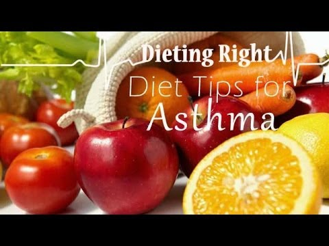 Asthma: What to eat? Diet Tips from Ventuno Dieting Right