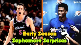8 NBA Sophomores SURPRISING Everyone! (2019-20 Season)