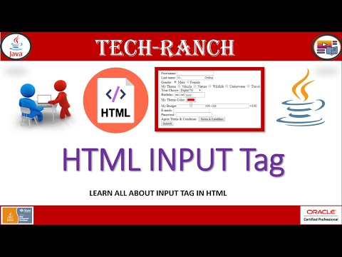 All About HTML INPUT TAG | HTML Tutorial | Tech-Ranch thumbnail