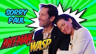 Paul Rudd & Evangeline Lilly Funny Moments (Ant-Man and the Wasp)