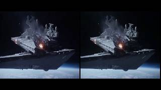 3D VR Star Wars Rogue One  Space Battle of Scarif Supercut Temporary Re-Upload