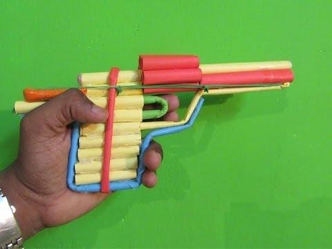 Hoe maak je een Paper Revolver dat Shoots...