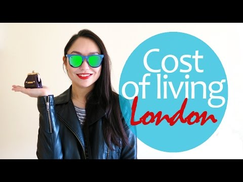 Cost of living in London. How much does it cost to live in the UK? Student expenses