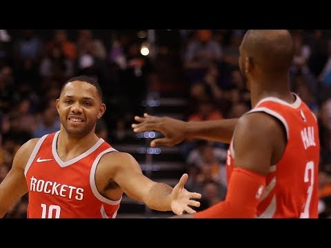 Houston Rockets Score 90 Points in the 1st Half! | November 16, 2017