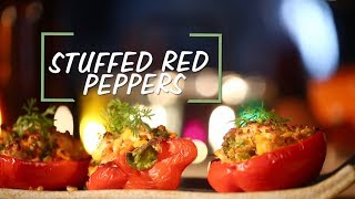 Stuffed Red Peppers Recipe | Saffola Fit Foodie | How To | Healthy