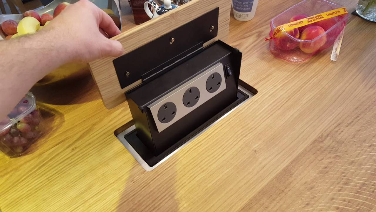 Attention To Detail In A Mark Williamson Kitchen   S Box Pop Up Plug Socket    YouTube
