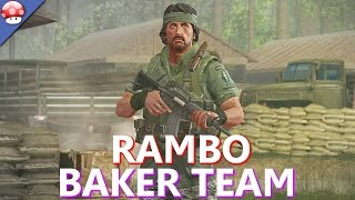 Rambo The Video Game: Baker Team Gameplay (PC HD) (Free DLC/Expansion)