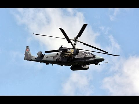 Russian Attack Helicopters Attack Ukraine