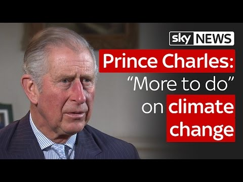 Prince Charles on his new Ladybird book about climate change