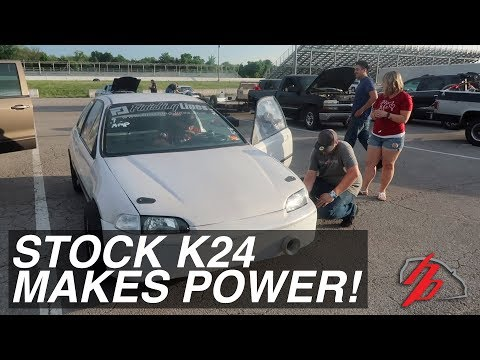 A STOCK K24 TSX Motor Made HOW MUCH?!