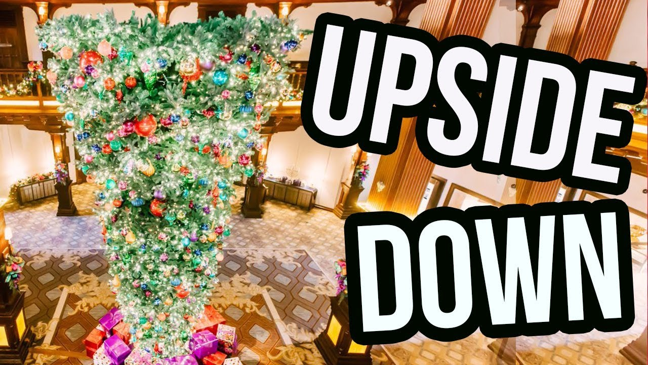 Upside Down Christmas Trees Are The New Holiday Trend Youtube
