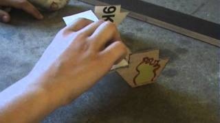 How To  Make A (cardboard) Table For Fingerboards