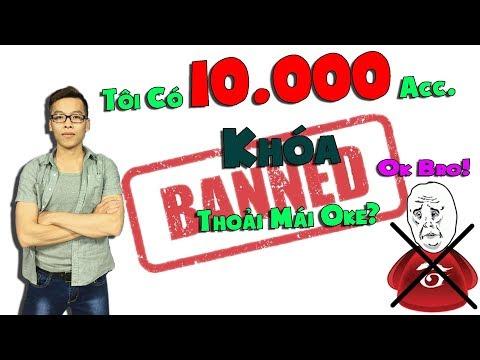 Thách Thức Garena Khóa ACC: Trâu Có 10.000 ACC Liên Minh | Trâu Best Udyr