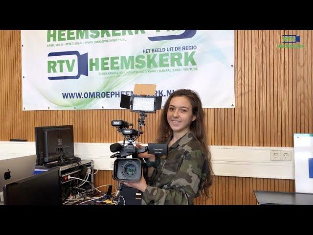 Stage bij omroep Heemskerk