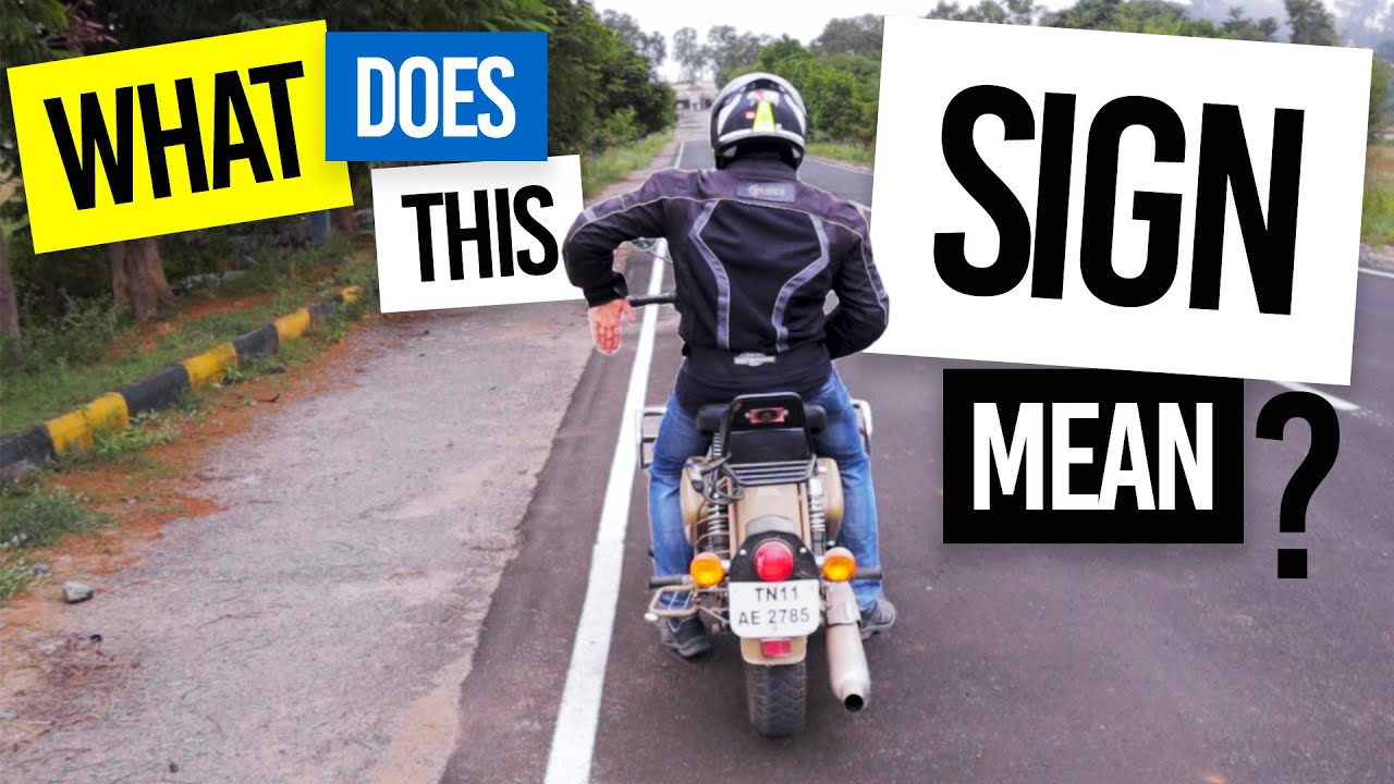 MUST KNOW GROUP RIDING SIGNS | Every Motorcycle Rider Must Know These Signs | Tamil