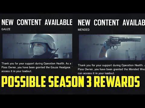 Rainbow Six Siege Possible Season 3 Rewards Hong Kong Polish DLC