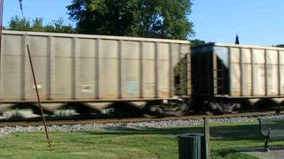 Norfolk Southern Coal Train on the Paducah & Louisville in West Point, KY, 11 August 2012