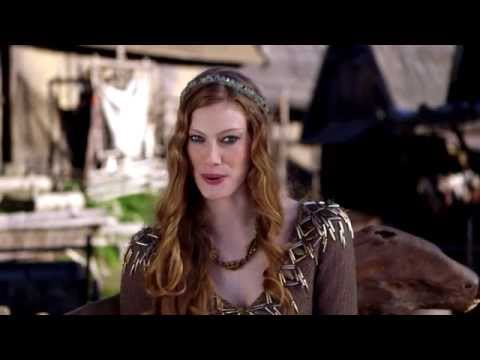 Alyssa Sutherland : Vikings' Princess Aslaug inviting YOU to watch it exclusively on Dubai One TV