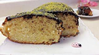 Su ile yapılan pratik kek tarifi - Çikolata soslu kek yapımı - Ev Lezzetleri