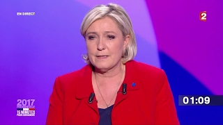 Far right Leader Marine Le Pen   We need a plan to fight islamist terrorism