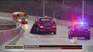 Icy Conditions Lead To Crash In Clairton