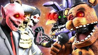 FNaF Withered Animatronics VS. Dark Deception