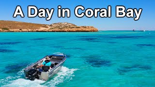 4wding, Snorkeling & Picking Up Spanish Tourists | Coral Bay